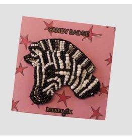 Pinned by K Pinned by K Broche Limited Zebra