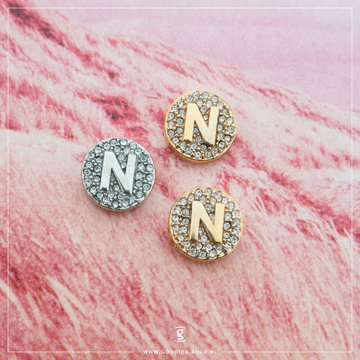 Imotionals Imotionals Hanger Crystal Letter N