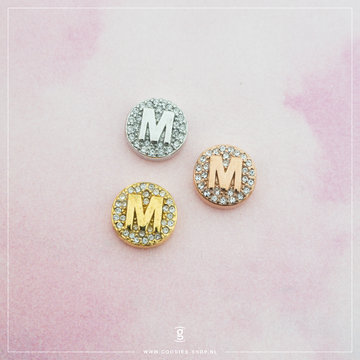 Imotionals Imotionals Hanger Crystal Letter M