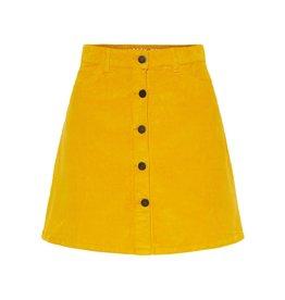 Noisy May Noisy May NMSunny Skirt Corduroy Golden Rod