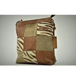 Bag 2 Bag Bag2Bag Lagos Zebra Brown