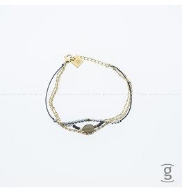 Zag Bijoux Zag Bijoux Bracelet Multi Goudkleurig