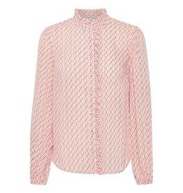 Saint Tropez Saint Tropez U1014 Woven Shirt Rose D.