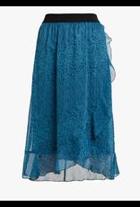 Saint Tropez Saint Tropez U8005 Woven Skirt Calf Length Dragonfly