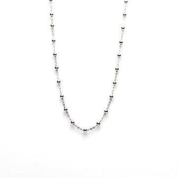 Karma Karma Necklace Dots Zilver 38-45cm
