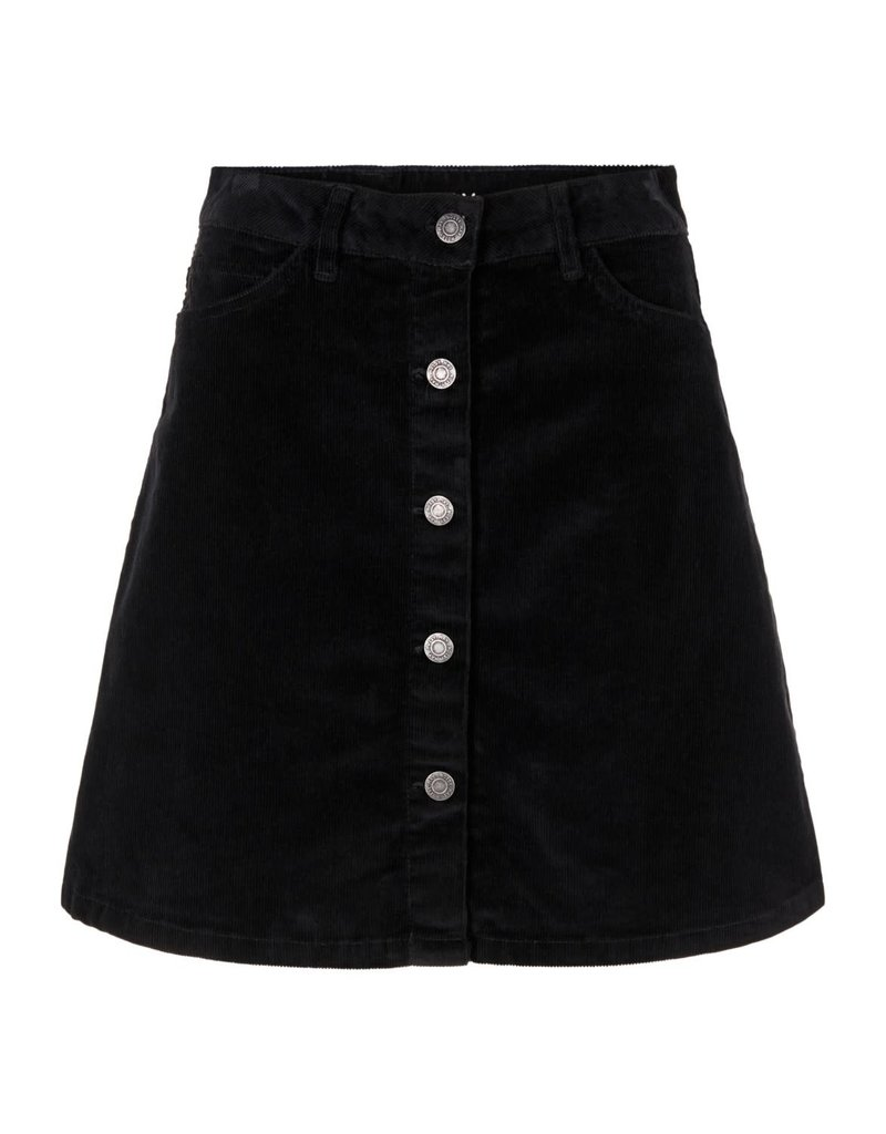 Noisy May Noisy may NM Sunny Corduroy Skirt Black