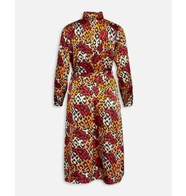 Sisters Point Sisters Point Eron Dress Red/Mustard/Leo
