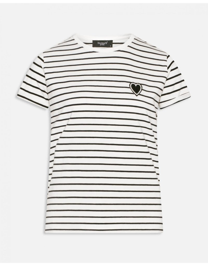 Sisters Point Sisters Point Herm-SS Stripe Tee Olivine