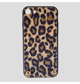 Pinned by K Pinned by K Iphone Case Keep Your Hands Free Leopard Beige