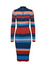 Noisy May Noisy May NM Hosta Knit Dress Gibraltar Sea Stripes