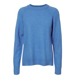 Noisy May Noisy May NM Mariana L/S O-Neck Knit Ibiza Blue