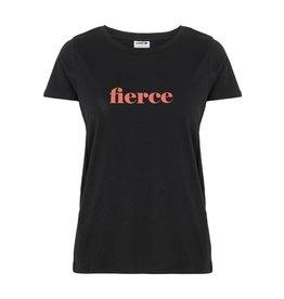 Noisy May Noisy May T-shirt Fierce Zwart