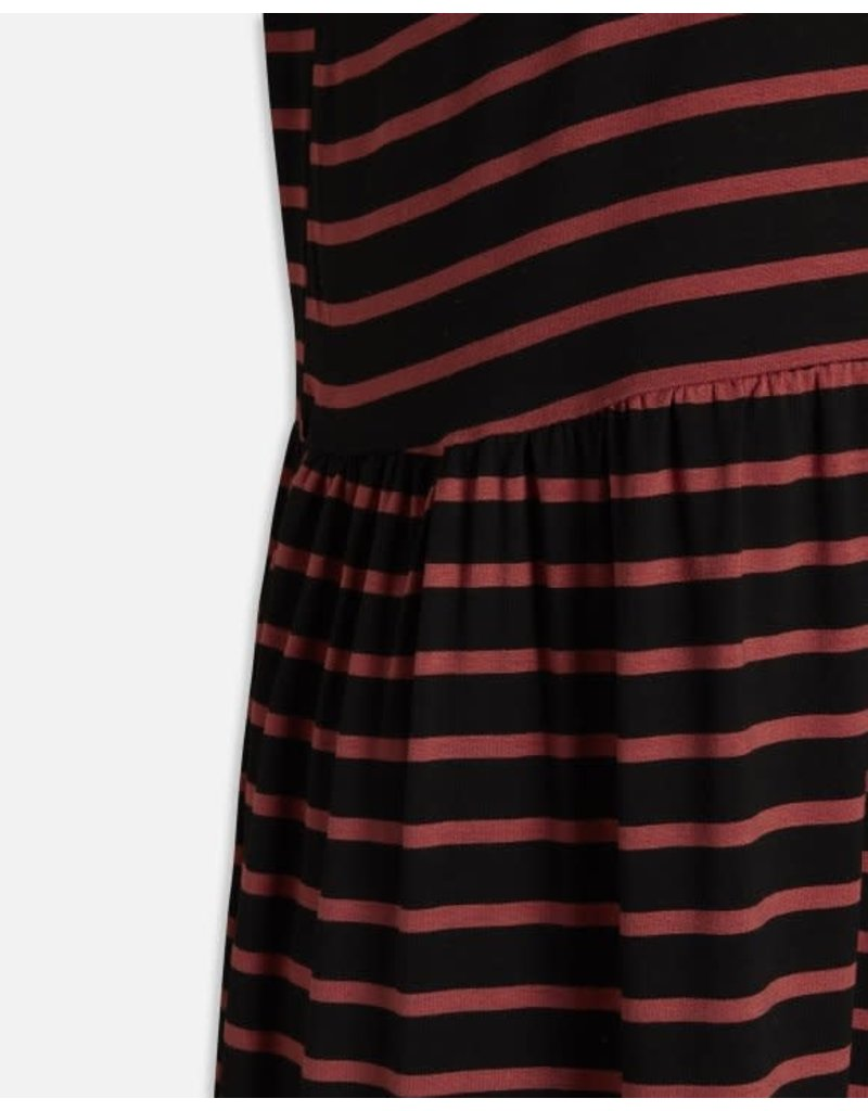 Sisters Point Sisters Point Norli Dress Black Rust