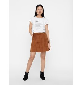 Noisy May Noisy May NM Lauren Skirt Tobacco Brown