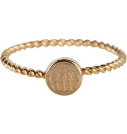 Charmin*s Charmin's R627 Twisted Gold Steel Historic Coin
