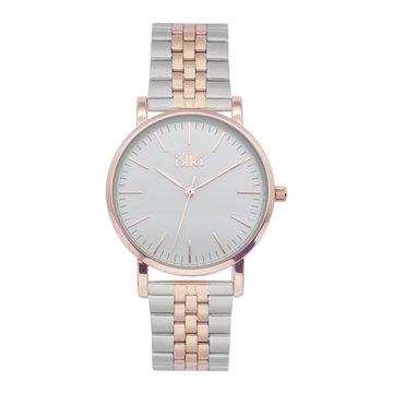 iKKi Horloges Ikki Jamy JM21 Zilverkleurig/Rosé B