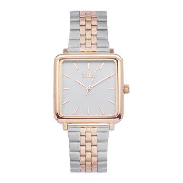 iKKi Horloges Ikki Tenzin TE15 Zilverkleurig/Rosé B