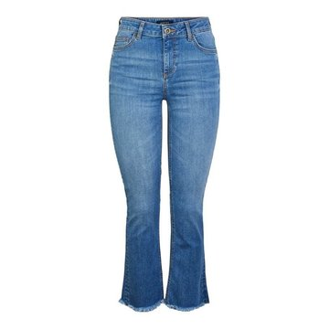 Pieces Pieces Denim Flared Jeans Medium Blauw