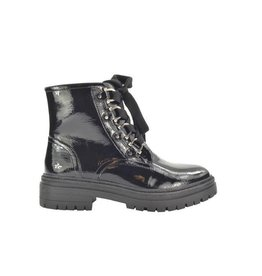 Fabs Shoes Fabs Ankle Boots Zwart Lak
