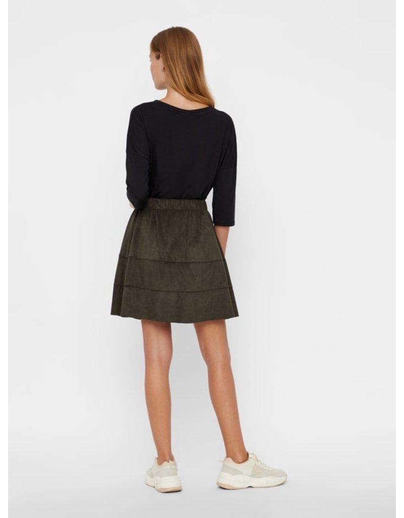 Noisy May Noisy May NM Lauren Skirt Peat