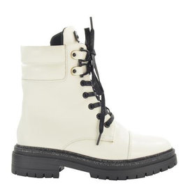Fabs Shoes Fabs Ankle Boots White