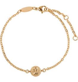 Charmin*s Charmin's CB31 Roman Coin Bracelet Gold Steel