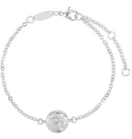 Charmin*s Charmin's CB34 Coin of Power Bracelet Shiny Steel