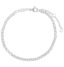 Charmin*s Charmin's CB42 Round Shackle Bracelet Shiny Steel