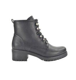Fabs Shoes Fabs Veterboots Zwart