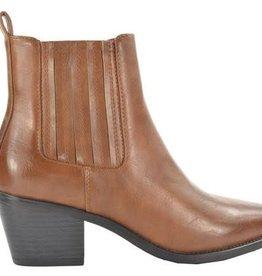 Fabs Shoes Fabs Chelsea Boot Met Hak Bruin