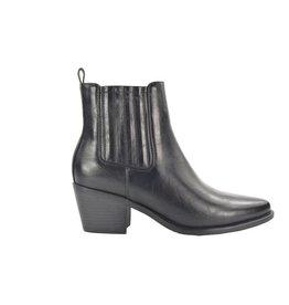 Fabs Shoes Fabs Chelsea Boots Met Hak Zwart