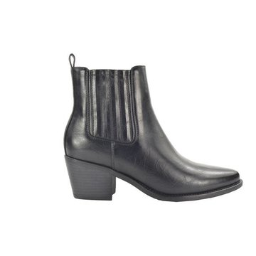 Fabs Shoes Fabs Shoes Enkellaars Zwart Met Hak
