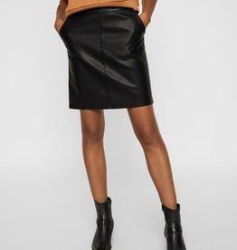 Noisy May Noisy May NMKelly PU Skirt Noos Black