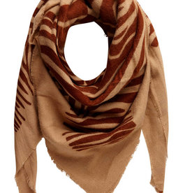 Pieces Pieces PC Helin Square Scarf Tannin