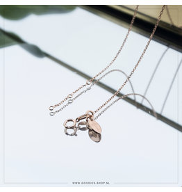 Imotionals Imotionals Ketting Anker 52cm Rosé