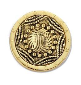 Mi Moneda MM Misterio Coin Goudkleurig