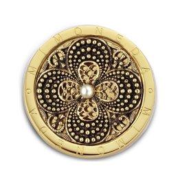 Mi Moneda MM Florido Coin Goudkleurig
