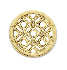 Mi Moneda MM Mivida Coin Goudkleurig Medium