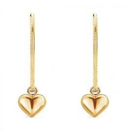 Mi Moneda MMM Jade Love Earring Set Goudkleurig