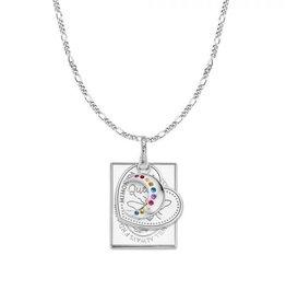 Mi Moneda Monogram MMM Love Moon Necklace Set Zilver