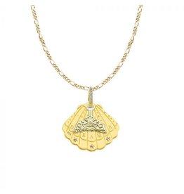 Mi Moneda MMM Shell Necklace Set Goudkleurig
