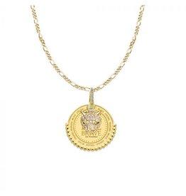 Mi Moneda MMM Be Brave Necklace Set Goudkleurig