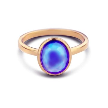 Mi Moneda MMV Mood Joy Ring Rosé