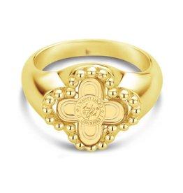 Mi Moneda Vintage MMV Chelsea Ring Goudkleurig