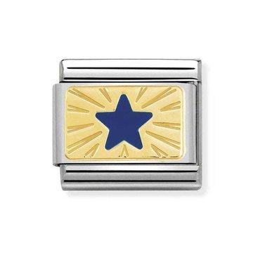 Nomination Nomination Link Ster Goud/Blauw