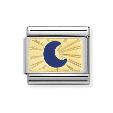 Nomination Nomination Link Maan Blauw/Goud