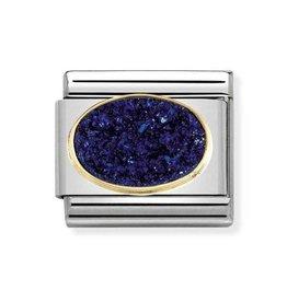 Nomination Nomination Link 030518/04 Agate Drusie Midnight Blue