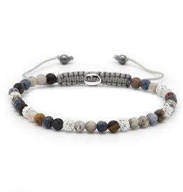 Karma Karma Bracelet 84379 Spiral Moves xxs (white crystal)