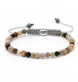 Karma Karma Bracelet 84360 Spiral Frosting xxs (gold crystal)