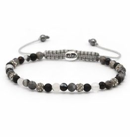Karma Karma Bracelet 84365 Spiral Fairy Tale xxs (grey crystal)